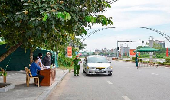 TP. Thanh Hóa và huyện Nông Cống tiếp tục giãn cách xã hội thêm 7 ngày