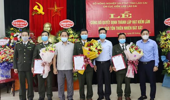 Lào Cai: Thành lập Hạt Kiểm lâm Khu Bảo tồn thiên nhiên Bát Xát