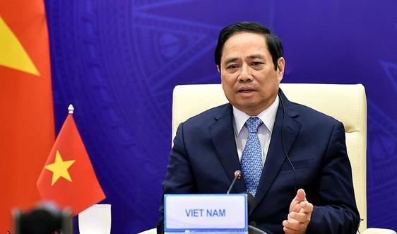 Bài phát biểu của Thủ tướng Phạm Minh Chính tại Hội nghị Thượng đỉnh Hợp tác Tiểu vùng Mekong mở rộng (GMS) lần thứ 7