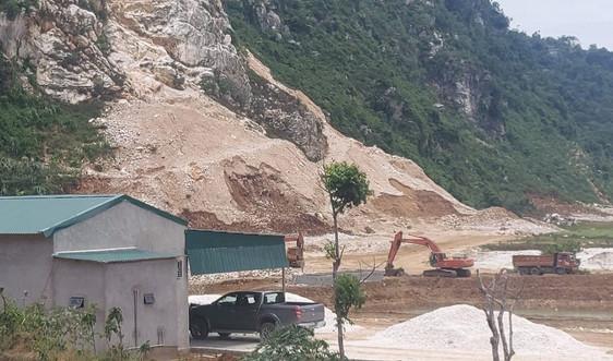 Nghệ An: Xử phạt mỏ đá chiếm đất rừng sản xuất