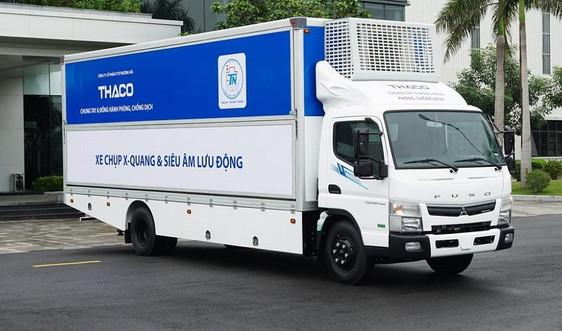 THACO tiếp tục sản xuất xe chuyên dụng chụp X-quang và siêu âm lưu động