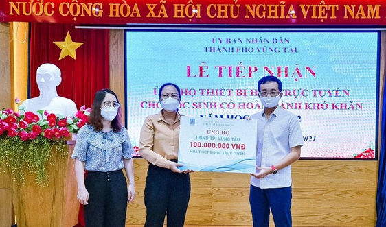 PV GAS tiếp tục hỗ trợ Bà Rịa - Vũng Tàu phòng chống dịch bệnh Covid-19