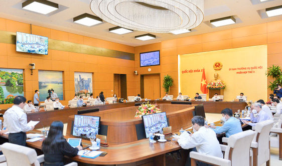 Ủy ban Thường vụ Quốc hội cho ý kiến Luật Kinh doanh bảo hiểm (sửa đổi)