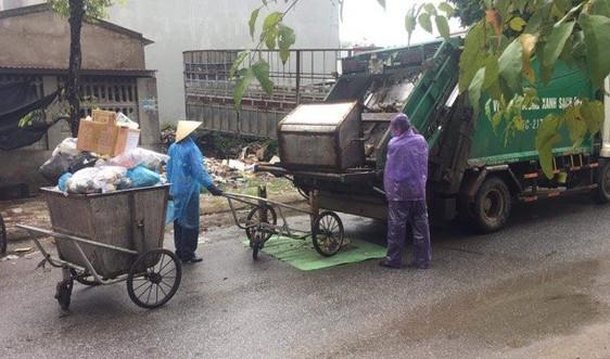 TP Thanh Hóa đảm bảo thu gom, xử lý rác trong mùa dịch