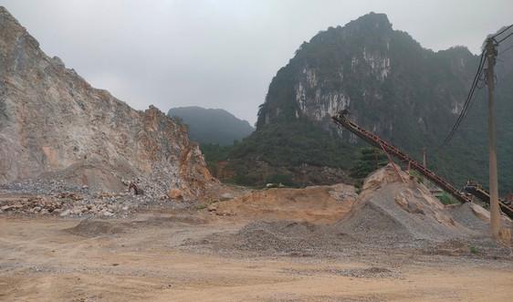 Thanh Hóa: Thu hồi, đóng cửa mỏ đá Công ty cổ phần Hồng Phúc