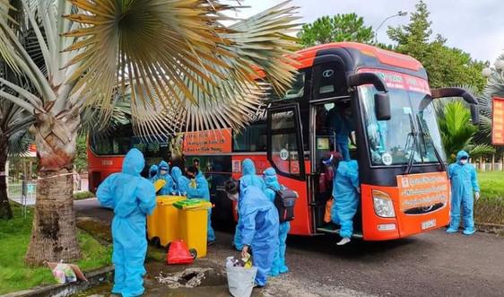 Đắk Nông: Đón 200 công dân từ Bình Dương và Đồng Nai về tránh dịch