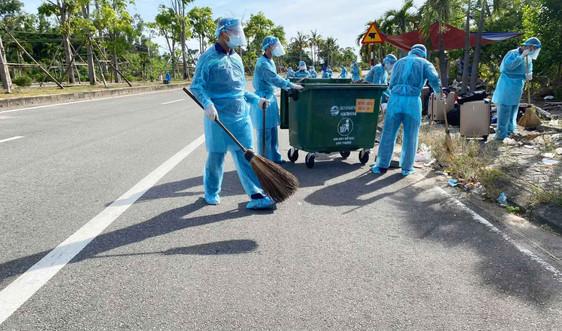 Thừa Thiên - Huế: Thu gom, xử lý rác thải phát sinh do COVID - 19