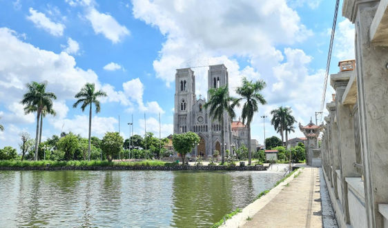 Nam Định: Giáo dân hiến đất làm đường, xây dựng Nông thôn mới