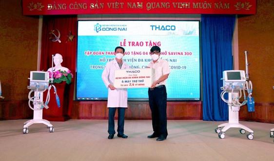 THACO tặng 2 triệu bộ kit test nhanh Covid-19 cho các tỉnh miền Nam, Tây Nguyên