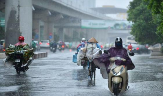 Dự báo miền Bắc mưa lớn trong ngày 21/9