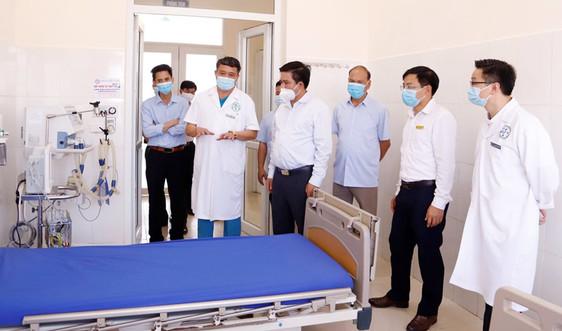 """Sa Pa - Lào Cai: Đưa vào hoạt động """"Nhà phòng, chống thảm hoạ"""" điều trị bệnh nhân nhiễm Covid-19"""