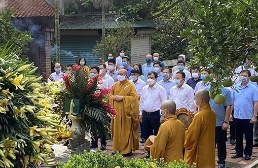 Dâng hương tưởng niệm 579 năm ngày mất của Danh nhân văn hóa thế giới Nguyễn Trãi