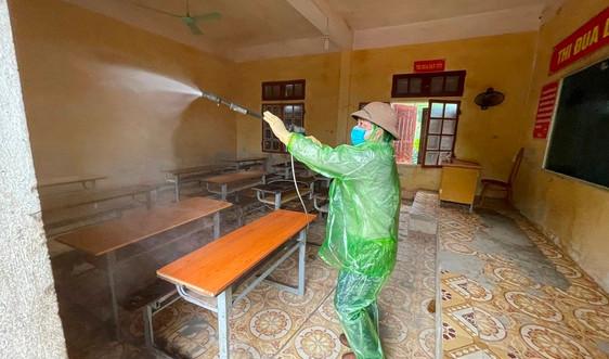 Sơn La: Dọn dẹp, khử khuẩn trường lớp để học sinh vùng dịch tựu trường