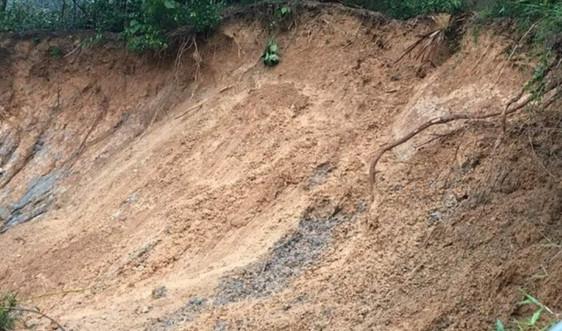 Hà Tĩnh: Sạt lở đất làm sập nhà dân khiến hai cháu nhỏ phải nhập viện
