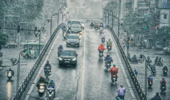 Thời tiết 26/9, mưa dông nhiều nơi trên cả nước