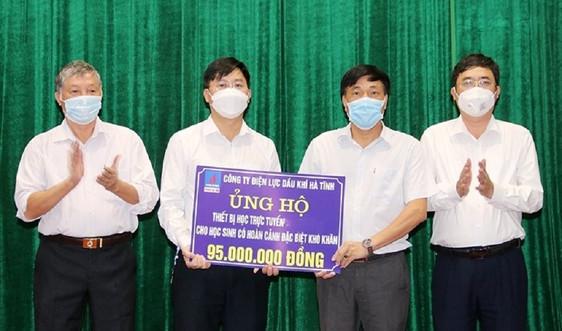 PV Power Hà Tĩnh đồng hành cùng học sinh nghèo vượt khó