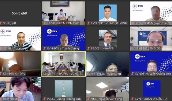 EVN làm việc với UBND tỉnh Bà Rịa – Vũng Tàu về dự án đưa điện lưới quốc gia ra Côn Đảo