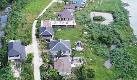 Thừa Thiên - Huế: Xây dựng công trình trái phép, chủ đầu tư dự án Go Green Farm bị xử phạt