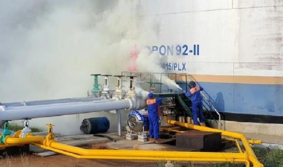 Tổng Kho Xăng dầu Đà Nẵng thực tập phương án PCCC kho xăng dầu