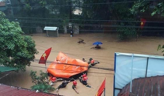Khắc phục tình trạng ngập lụt tại các đô thị vùng DTTS và miền núi