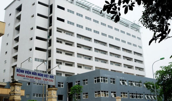 Khẩn tìm người từng đến Bệnh viện Hữu nghị Việt - Đức