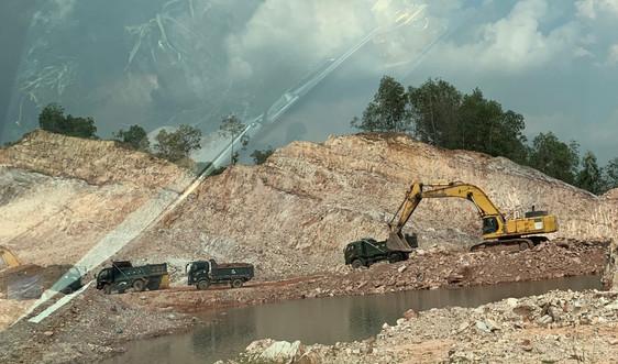 Chí Linh – Hải Dương: Xử phạt trường hợp khai thác khoáng sản trái phép