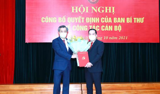 Ông Hồ Xuân Trường làm Phó Bí thư Đảng uỷ Khối Doanh nghiệp Trung ương