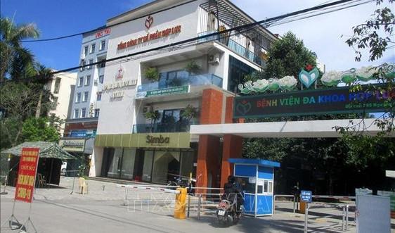Thanh Hóa: Dỡ bỏ phong tỏa Bệnh viện đa khoa Hợp Lực