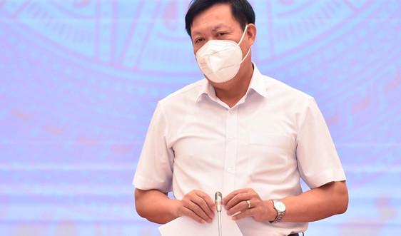 Bộ Y tế thông tin về kế hoạch tiêm đủ 2 mũi vaccine cho người dân Hà Nội
