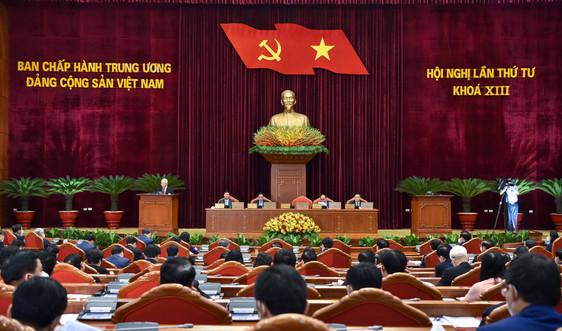 Thông cáo báo chí về ngày làm việc thứ nhất Hội nghị Trung ương 4, khoá XIII
