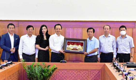 Thừa Thiên – Huế và Tập đoàn FLC hợp tác đầu tư