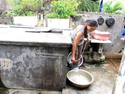 Ninh Bình: Phát huy hiệu quả nguồn vốn vay nước sạch vệ sinh môi trường