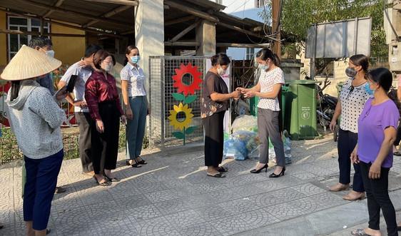 """TP Cao Bằng: Phụ nữ xã Hưng Đạo ra mắt mô hình """"Thu gom, phân loại rác thải nhựa"""""""