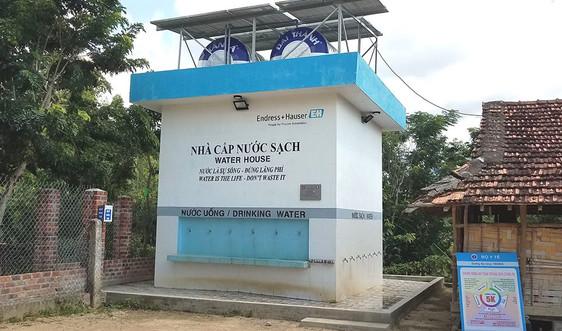 Kon Tum: Nước sạch về với đồng bào dân tộc Ba Na