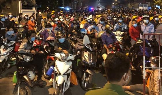 Thái Bình: Ưu tiên đón 6 nhóm người mắc kẹt tại các tỉnh phía Nam