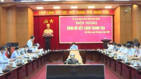 Thái Bình: Kết luận thanh tra chỉ ra nhiều tồn tại, hạn chế tại Dự án Khu đô thị nghìn tỷ