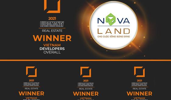 """Novalandđược vinh danh """"Nhà phát triển bất động sản xuất sắc 2021"""""""