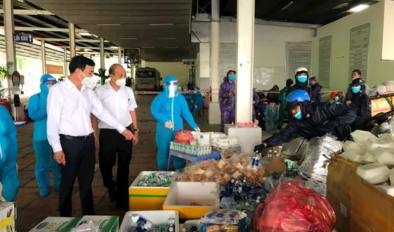 Chủ tịch Đà Nẵng trực tiếp lên hầm Hải Vân dẫn đường tiễn bà con về quê