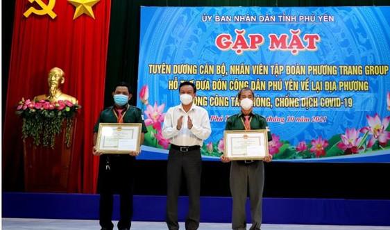 Phú Yên tuyên dương Tập đoàn Phương Trang