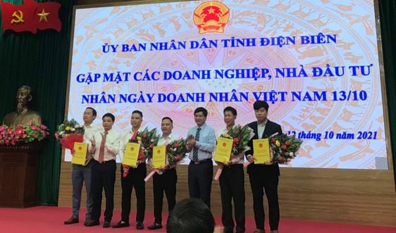 Điện Biên: Gặp mặt doanh nghiệp, nhà đầu tư nhân ngày Doanh nhân Việt Nam