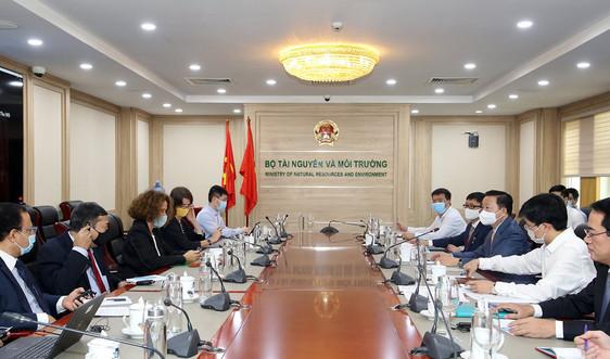 Thúc đẩy quan hệ hợp tác giữa Bộ Tài nguyên và Môi trường và Ngân hàng Thế giới trong giaiđoạn mới