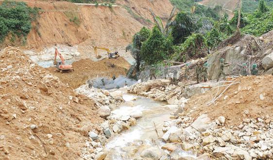 Thừa Thiên – Huế: Rút toàn bộ công nhân ra khỏi vùng nguy cơ sạt lở ở thủy điện Rào Trăng 3