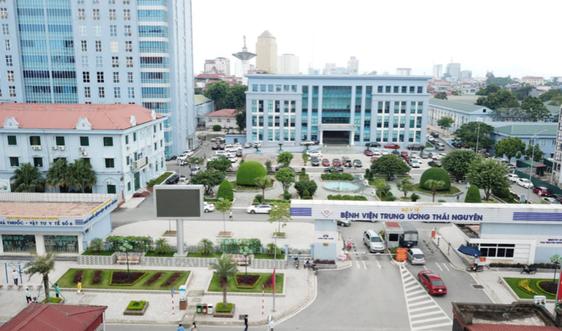 Công bố Quyết định xếp hạng đặc biệt đối với Bệnh viện Trung ương Thái Nguyên