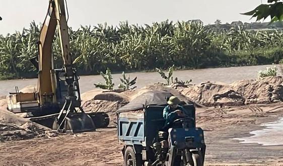 Bến bãi không phép ở Ninh Giang, Hải Dương: Ngang nhiên hoạt động