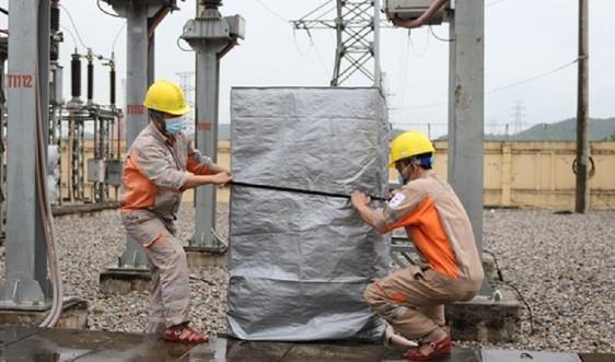 Ảnh hưởng của bão số 8 đến vận hành nguồn và lưới điện khu vực miền Bắc