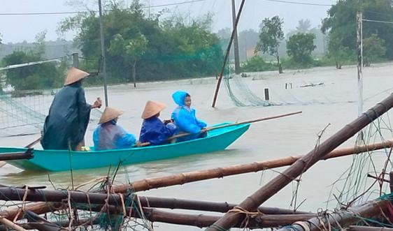 """Triển khai ngay các biện pháp khẩn cấp ứng phó mưa lũ theo phương châm """"bốn tại chỗ"""""""
