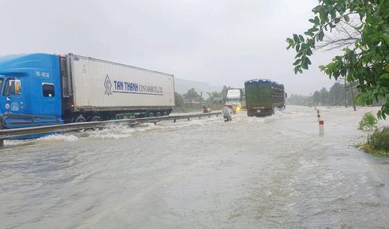 Nhiều địa phương thiệt hại do mưa lớn