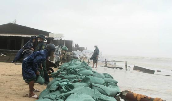 Thừa Thiên – Huế: Khắc phục sạt lở sau mưa lớn