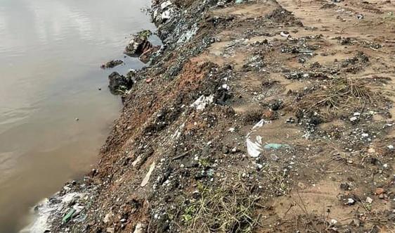 Bãi bồi màu mỡ thành nơi chôn lấp rác thải ở huyện Ninh Giang, Hải Dương: Xử lý nghiêm minh đúng người, đúng tội