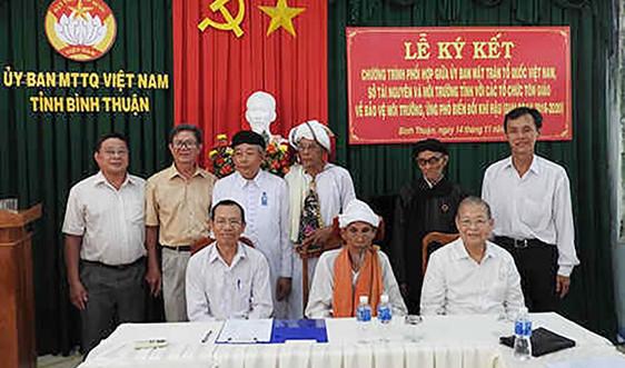 Tánh Linh (Bình Thuận): Các tôn giáo chung tay bảo vệ môi trường